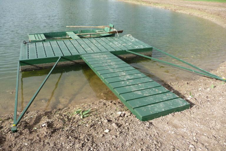 le Ponton flottant – 3,8 m x 1,5 m