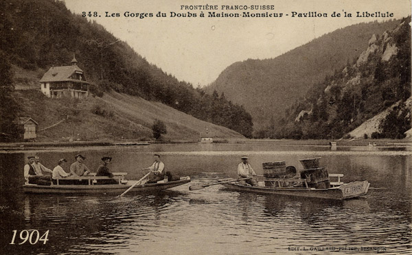 7. L'arlequin du Doubs